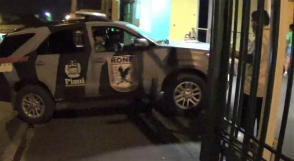 Policial Militar e filho são baleados durante tentativa de assalto em Teresina