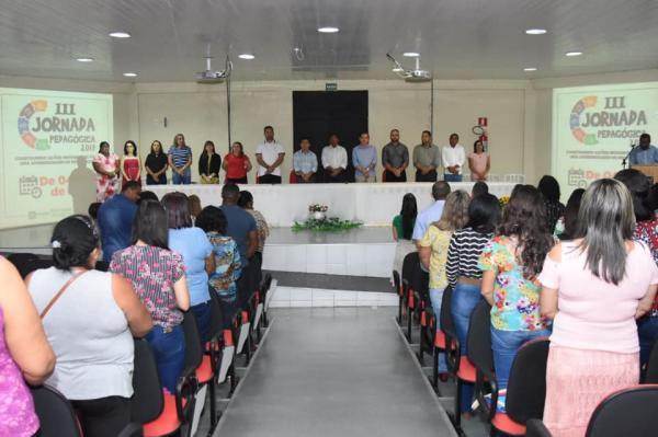 Tem início a III Jornada Pedagógica de Floriano