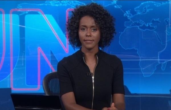 Maju Coutinho estreia na bancada do Jornal Nacional e ganha elogios