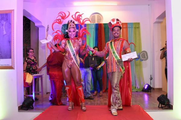 Eleitos Rei Momo e Rainha do Carnaval 2019 em Floriano