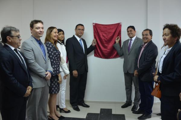 Inaugura da sede própria do MPPI de Água Branca (Imagem: Valdomiro Gomes/CANAL 121)