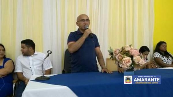 Prefeitura Municipal de Amarante realiza I Conferência de Saneamento Básico