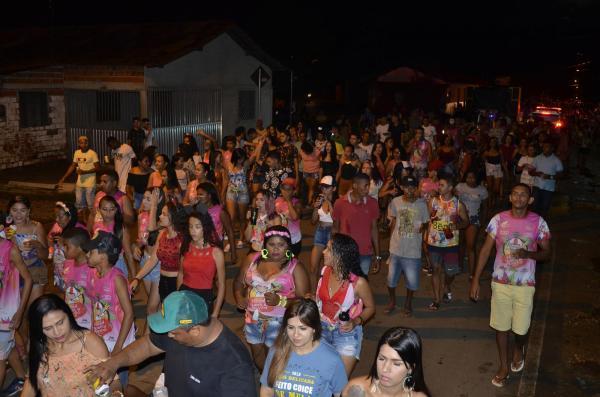 Corso de carnaval de Agricolândia (Imagem: Valdomiro Gomes/CANAL 121)