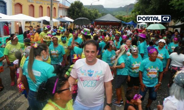 Prefeitura Municipal realiza Carnaval para Idosos e crianças de Amarante