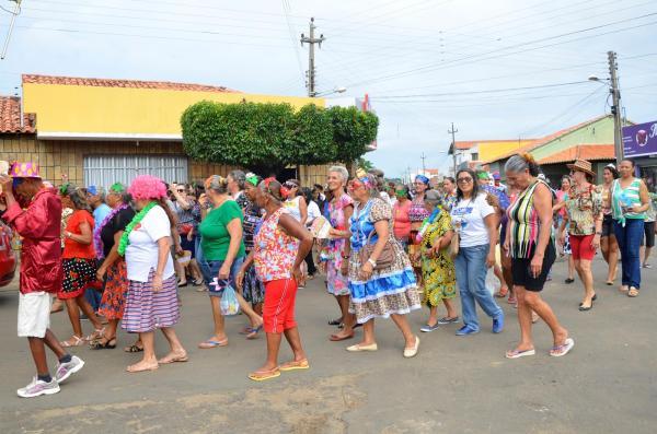 Prefeitura de Angical do Piauí promove festa de carnaval da Melhor Idade; veja imagens