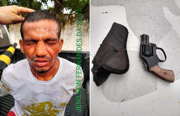Homem é preso por suspeita de arrombamento na cidade de Amarante