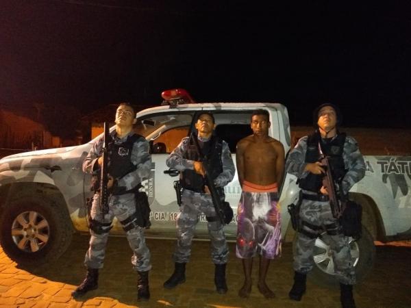 PM cumpre mandado e prende homem acusado de atirar contra a companheira em Amarante