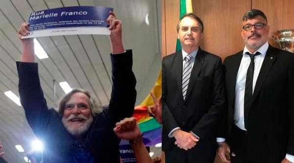 """Após ameaça de Bolsonaro, Alexandre Frota diz que vai processar Zé de Abreu por """"crimes no aeroporto"""""""