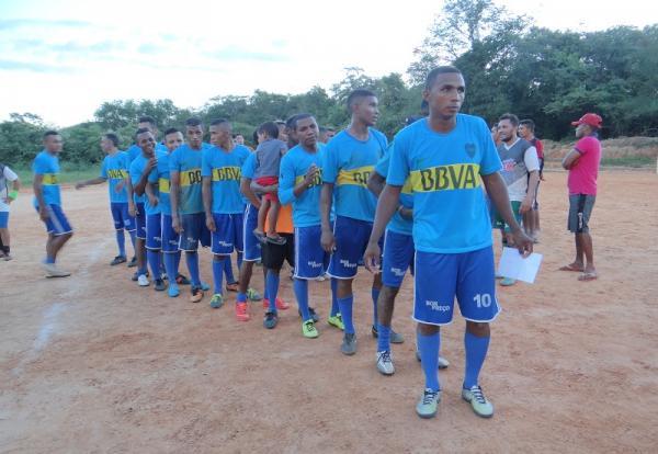 Futebol   Barro vermelho vence o primeiro campeonato rural da comunidade