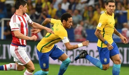 Brasil vence o Paraguai por 3 x 0 e está virtualmente na Copa do Mundo de 2018