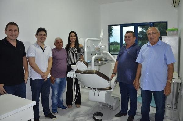 Prefeitura de São Gonçalo do Piauí entrega reforma de UBS de comunidades da zona rural