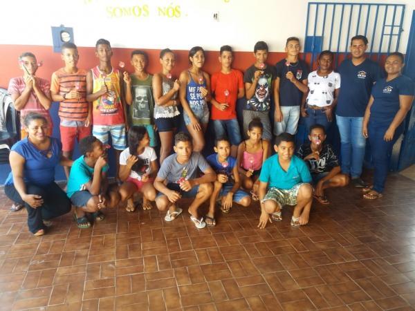 Atividades do SCFV de jovens tiveram início em Agricolândia