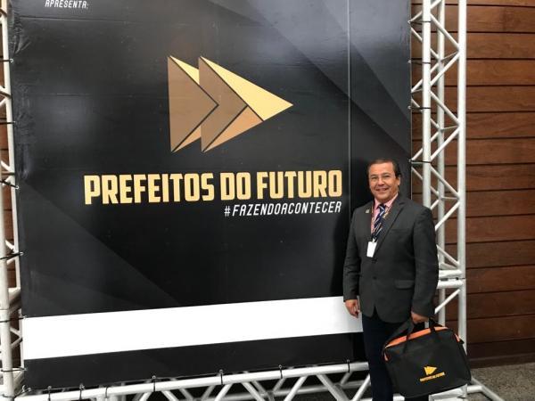 'Prefeitos do Futuro': Jonas Moura participa de evento para gestões municipais em Brasília