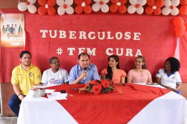 Floriano: Saúde realiza evento acerca do mês nacional da Tuberculose
