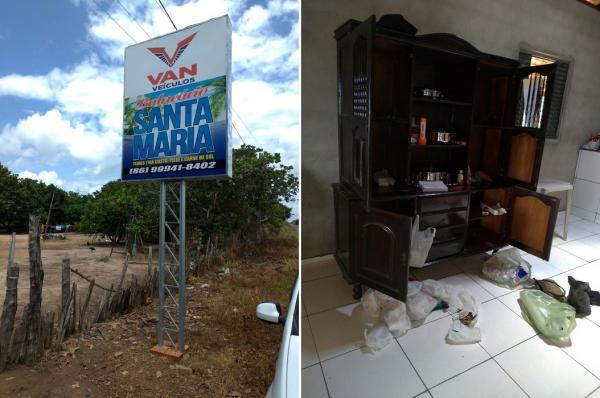 Criminosos roubam balneário e prendem família em banheiro na PI-354, próximo a Olho D'água do Piauí