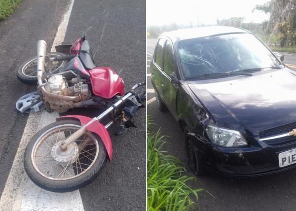 Homem de 55 anos fica ferido em acidente na BR 343, próximo a São Pedro do Piauí