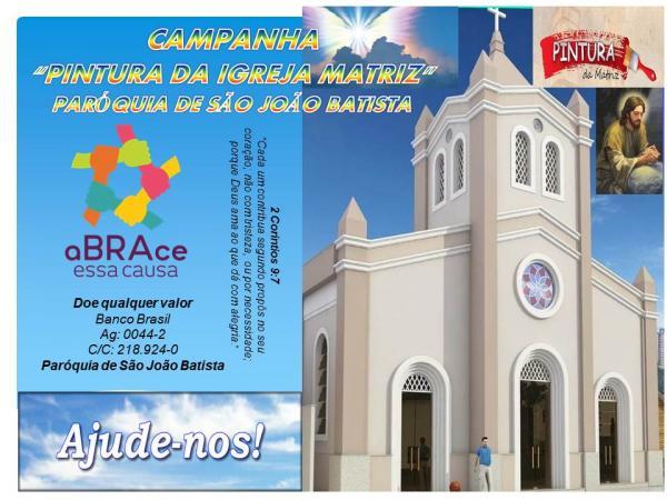 Paróquia de São João Batista em Barro Duro realiza campanha para pintura da Igreja Matriz