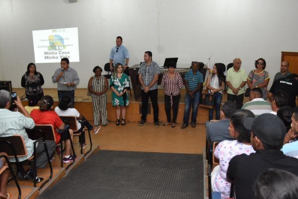 Conselho Municipal de Habitação é empossado em Floriano