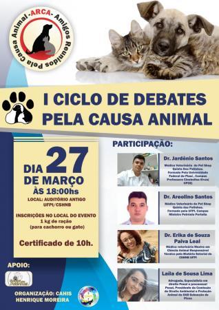 Centro Acadêmico de História da UFPI realiza I ciclo de debates pela causa animal