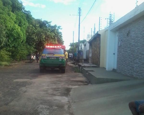 Capitão da PM é baleado durante assalto zona sudeste de Teresina