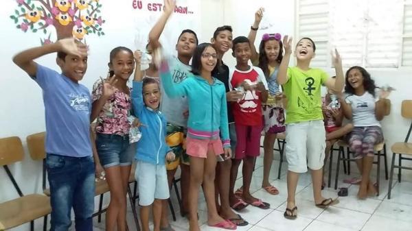 CRAS de Demerval Lobão realiza oficinas temáticas do SCFV com crianças e adolescentes