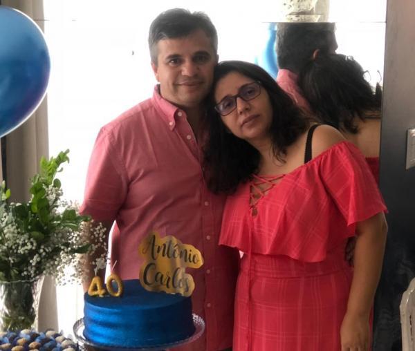 Aniversário do empresário Antônio Carlos (Imagem: Arquivo pessoal)