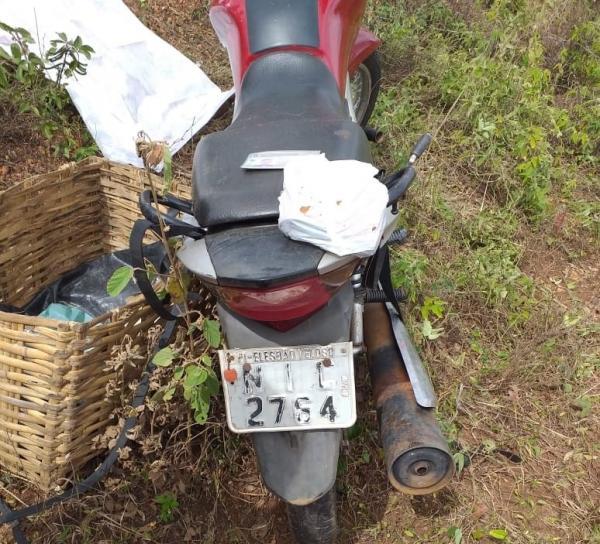Homem de 36 anos morre após sofrer acidente na PI-236, nas proximidades da fazenda Real, zona rural de Regeneração