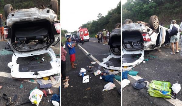 Grave acidente na BR-343 entre Regeneração e Angical deixa vítima presa às ferragens e vários feridos