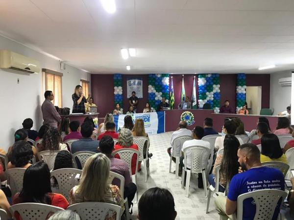 10ª Conferência Municipal de Saúde é realizada em Demerval Lobão