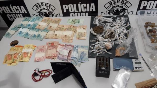 Jovem vendia crack e 'supermaconha' na casa da avó em Teresina — Foto: G1 PI