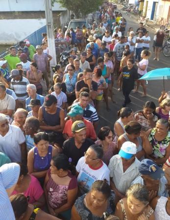 Distribuição de peixes em Angical do Piauí (Imagem: Divulgação)