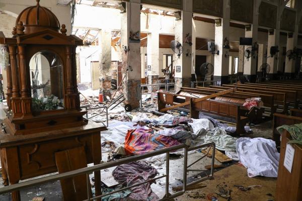 Explosões em hotéis e igrejas deixam centenas de mortos e feridos no Sri Lanka