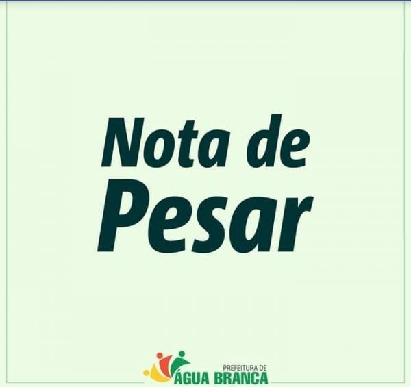 Prefeito Jonas Moura emite nota de pesar pela morte do empresário aguabranquense Miguel da Pizzaria