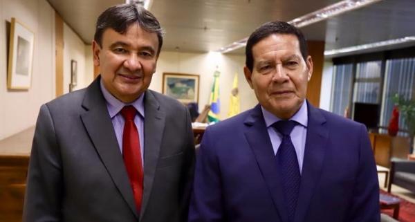 Wellington Dias vai receber visita do vice-presidente Hamilton Mourão