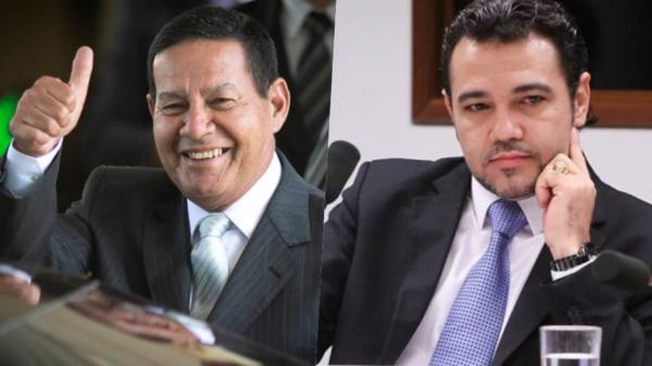 Rodrigo Maia rejeita pedido de impeachment de Hamilton Mourão