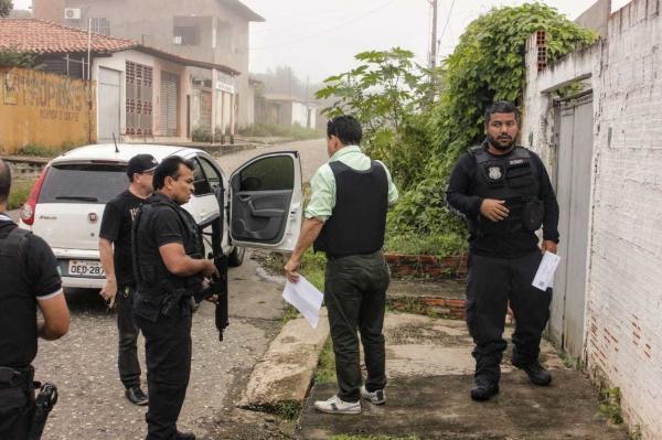 Operação policial prende 60 suspeitos de crimes em 17 municípios do Piauí