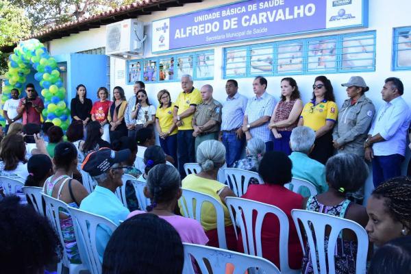 Solenidade marca abertura da campanha de vacinação contra a gripe em Floriano