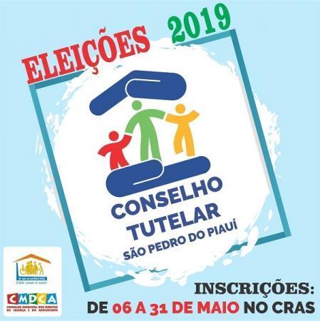 Conselho Tutelar | As inscrições para os candidatos estarão abertas a partir do dia 06 de maio