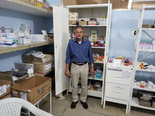 Prefeito Dr. Hermes Júnior visita instalações do hospital de Regeneração