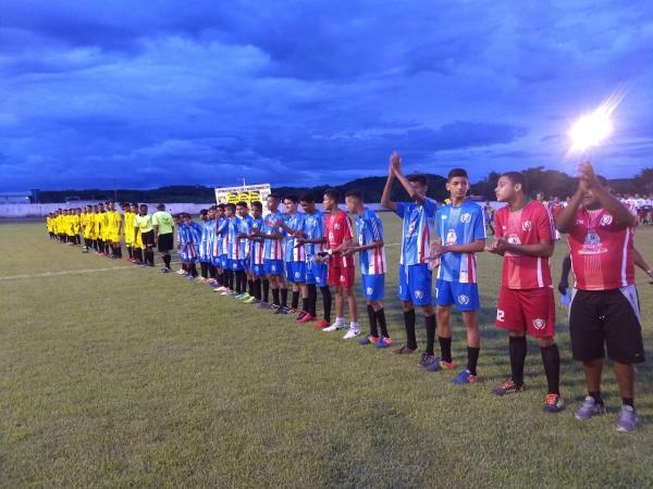 Decisão da 1ª Copinha de Futebol de Base do Médio Parnaíba