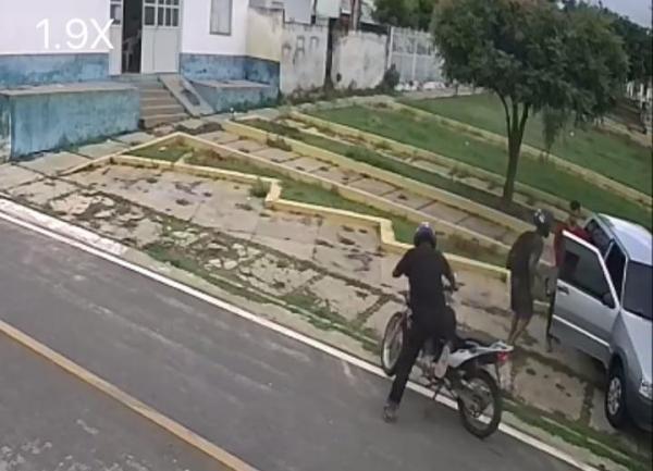 Bandidos armados assaltam funcionários da casa lotérica em Santo Antônio dos Milagres