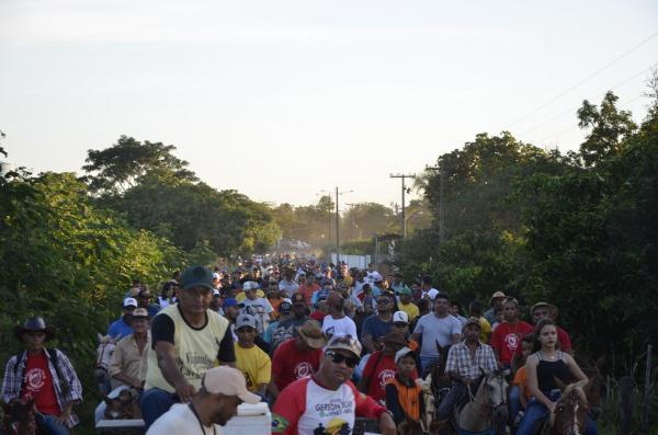 3ª Cavalgada dos Amigos da comunidade Embiratanha (Imagem: Valdomiro Gomes/CANAL 121)