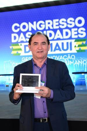 Vice-prefeito Antônio Reis participa do II Congresso das Cidades do Piauí