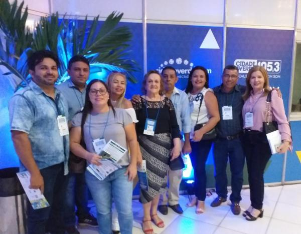 Prefeita Neta Santos e assessores participam do II Congresso das Cidades do Piauí