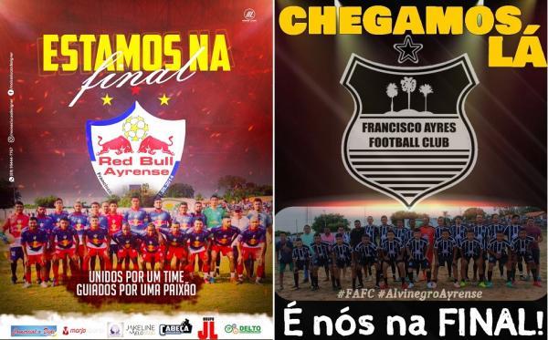 Campeonato municipal de futebol de Francisco Ayres (Imagem: Divulgação)