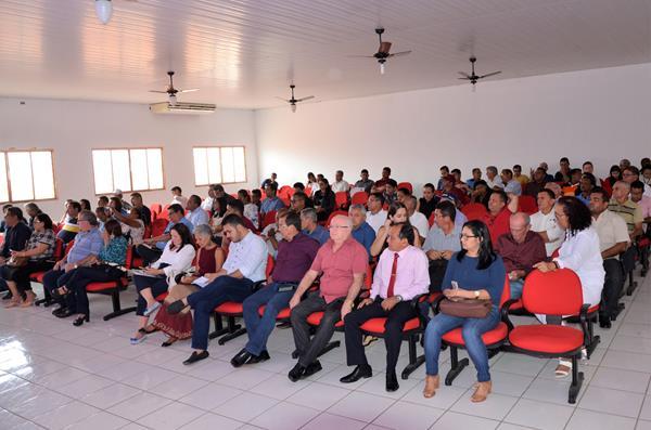 Plenária Ordinária do Território Entre Rios em Água Branca (Imagem: Valdomiro Gomes/CANAL 121)