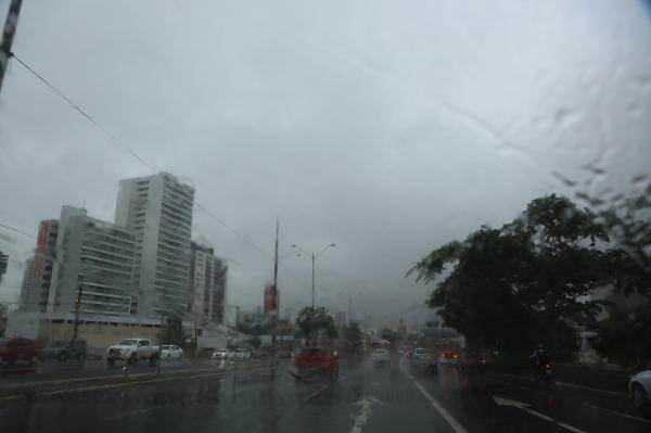 Ventos úmidos de alta pressão da Amazônia estão provocando chuvas. Foto: Efrém Ribeiro.