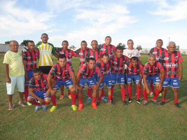 Copa Quarentões do Médio Parnaíba de Futebol chega ao final da 1ª fase neste final de semana
