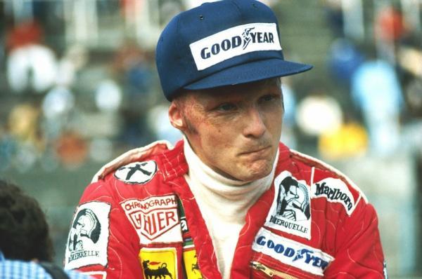 Niki Lauda voltou a correr no GP da Itália, cerca de seis semanas depois de seu acidente (Imagem: Divulgação)