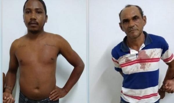 Domingos Lopes Pereira da Silva e Carlio Augusto de Sousa Soares (Imagem: Divulgação PM)